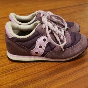 3/$25 Toddler Saucony Baby Jazz Sneakers Purple